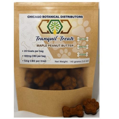 Pets | Treats | 100 mg | 5 pack | Maple Peanut Butter