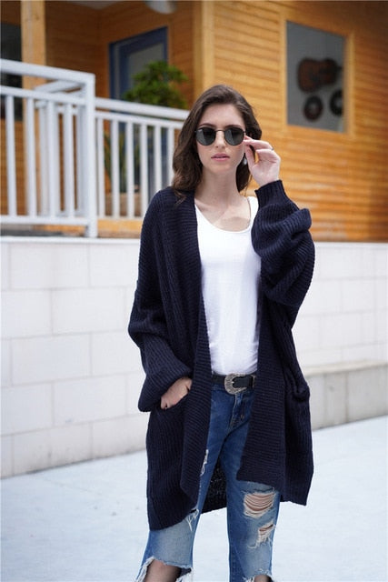 Winter Cardigans Outerwear Coat