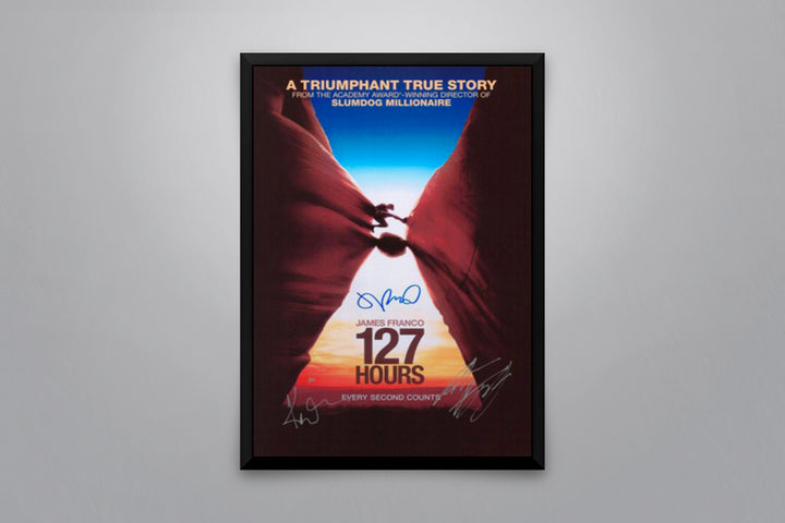 127 Hours - Signed Poster + COA