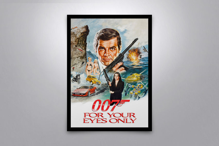 For Your Eyes Only - Signed Poster + COA