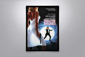 The Living Daylights - Signed Poster + COA