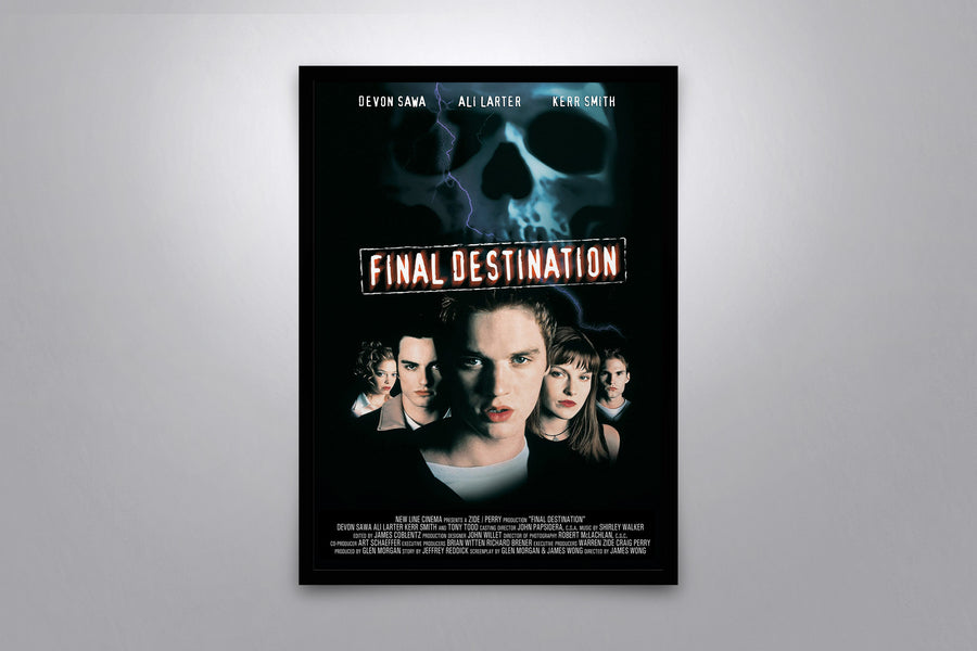 Final Destination - Signed Poster + COA