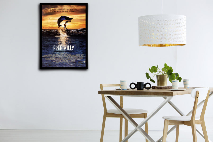 Free Willy - Signed Poster + COA