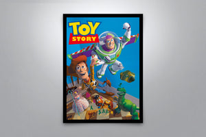 Toy Story - Signed Poster + COA