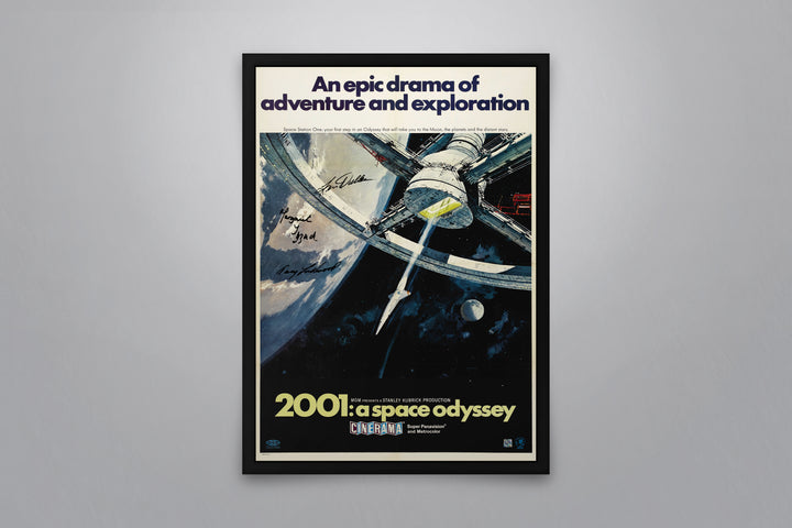 2001: A Space Odyssey - Signed Poster + COA