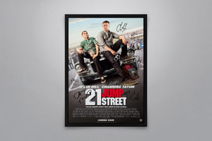 21 Jump Street - Signed Poster + COA