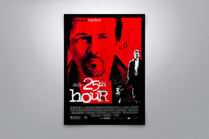 25th Hour - Signed Poster + COA