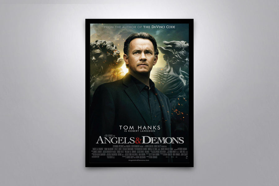 Angels & Demons - Signed Poster + COA