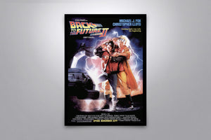 Back to the Future Autographed Poster Collection