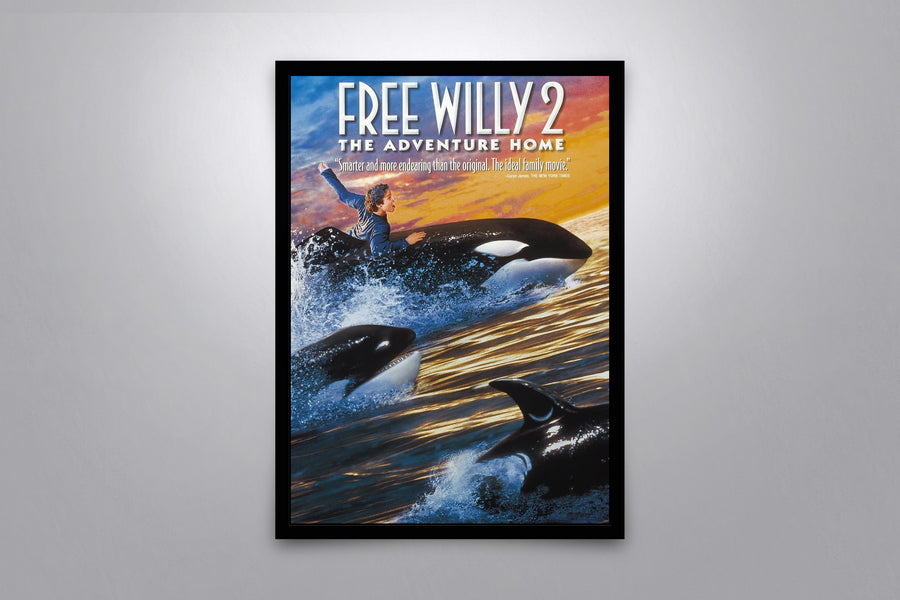 Free Willy 2: The Adventure Home - Signed Poster + COA