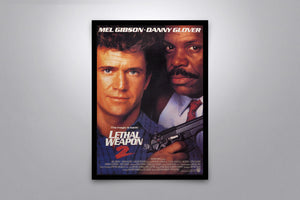 Lethal Weapon 2 - Signed Poster + COA