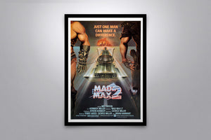 MAD MAX 2  - Signed Poster + COA