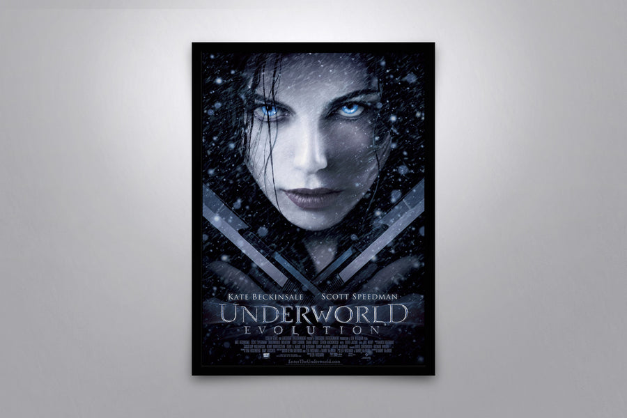 Underworld: Evolution - Signed Poster + COA