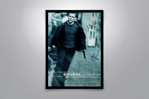 Bourne Series Autographed Poster Collection