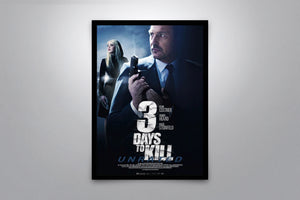 3 Days to Kill - Signed Poster + COA