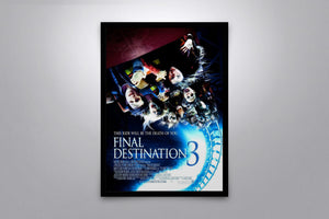 Final Destination 3 - Signed Poster + COA