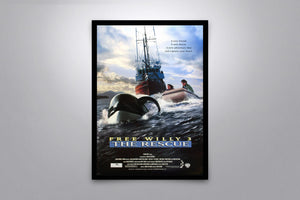 Free Willy 3: The Rescue - Signed Poster + COA