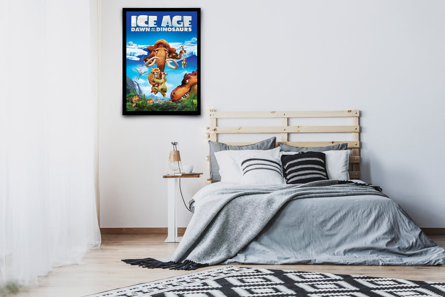 Ice Age: Dawn of the Dinosaurs - Signed Poster + COA