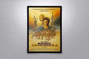 MAD MAX: Beyond Thunderdome  - Signed Poster + COA