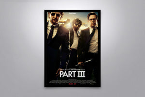 THE HANGOVER Part III - Signed Poster + COA