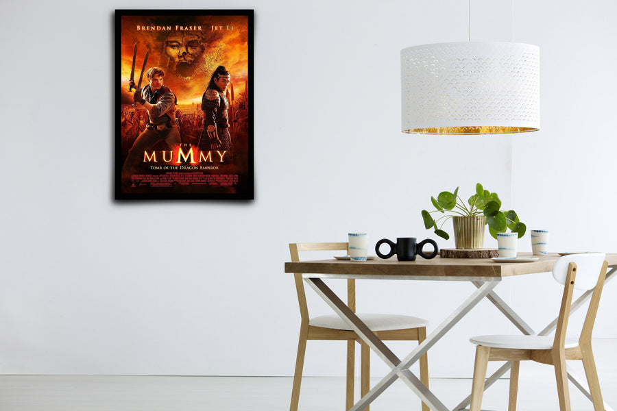 The Mummy: Tomb of the Dragon Emperor - Signed Poster + COA