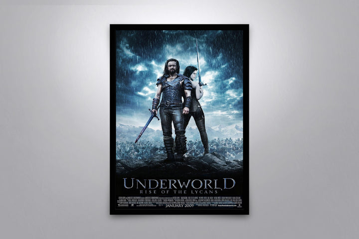 Underworld: Rise of the Lycans - Signed Poster + COA