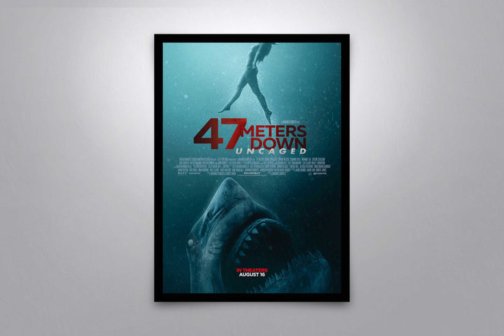 47 Meters Down: Uncaged - Signed Poster + COA