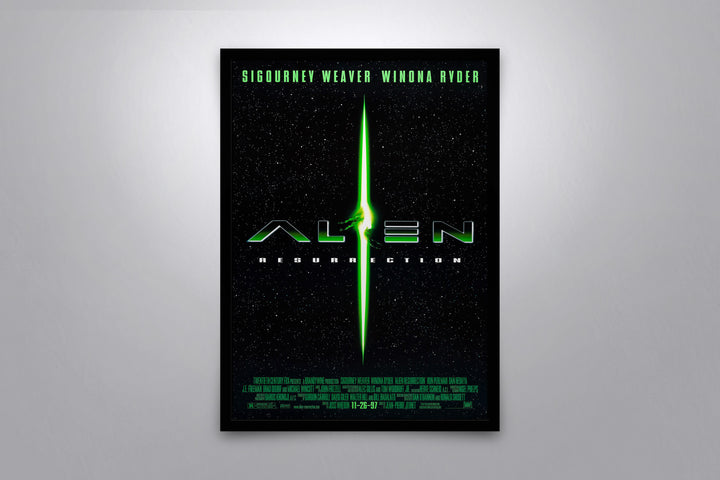 Alien: Resurrection - Signed Poster + COA