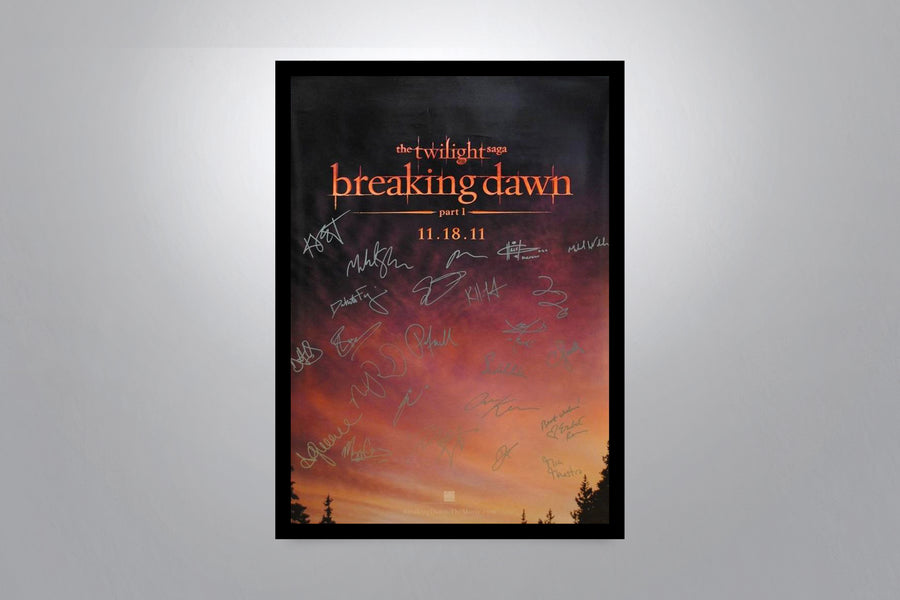 The Twilight Saga Autographed Poster Collection