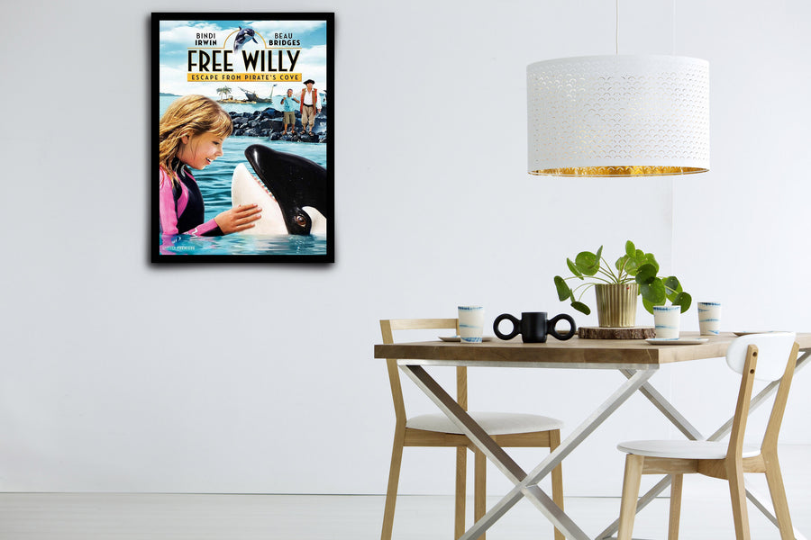 Free Willy: Escape from Pirate's Cove - Signed Poster + COA