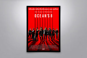 Ocean's Eight - Signed Poster + COA