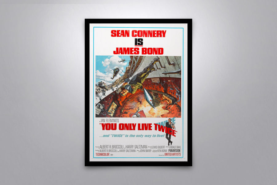 You Only Live Twice - Signed Poster + COA