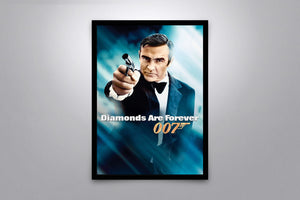 Diamonds Are Forever - Signed Poster + COA