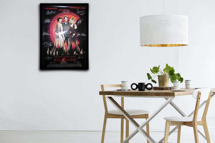 Chicago - Signed Poster + COA