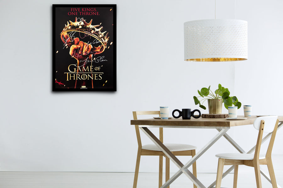 Game of Thrones Keepsake Poster - Signed Poster + COA