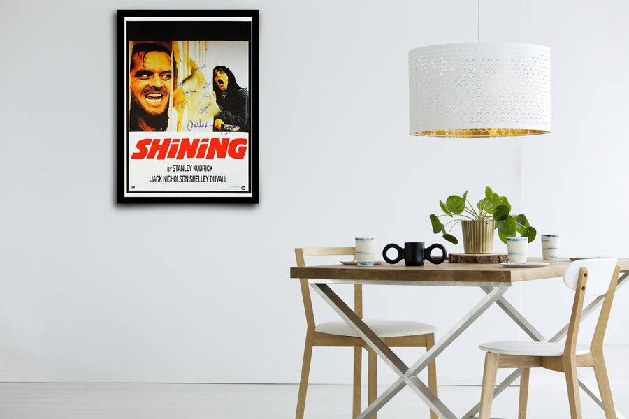 THE SHINING - Signed Poster + COA