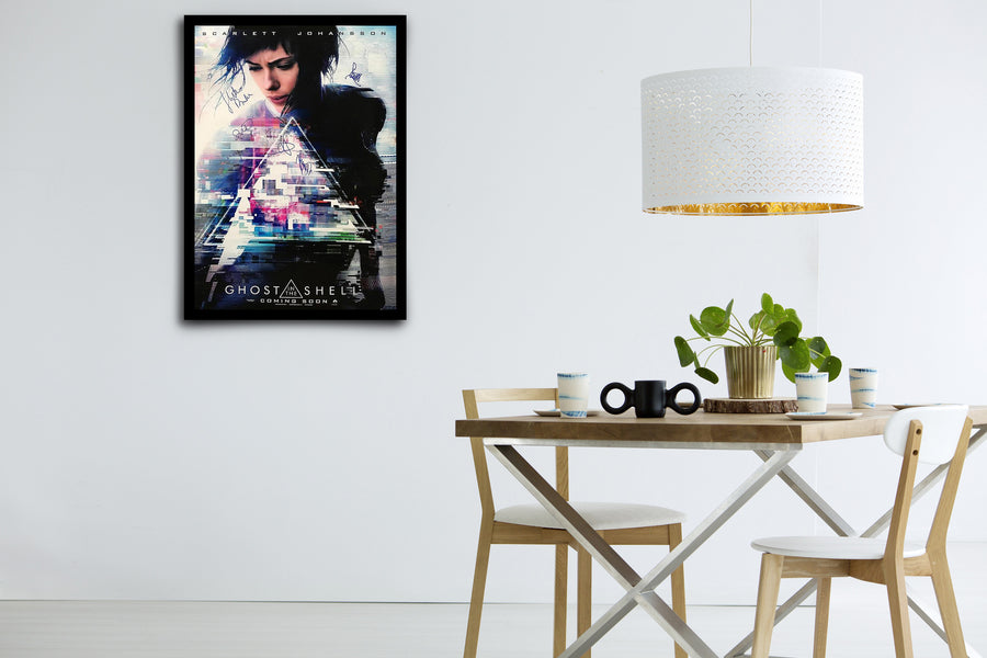 GHOST IN THE SHELL - Signed Poster + COA