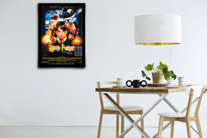 Harry Potter and the Sorcerer's Stone - Signed Poster + COA