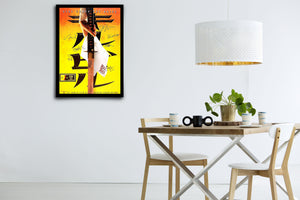 KILL BILL - Signed Poster + COA