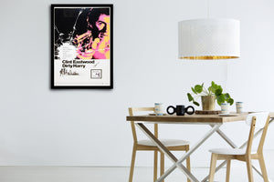 DIRTY HARRY -Signed Poster + COA