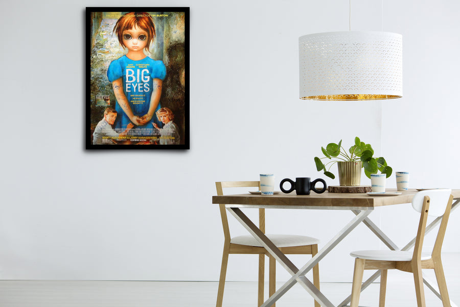 BIG EYES - Signed Poster + COA