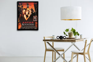 ROUNDERS - Signed Poster + COA