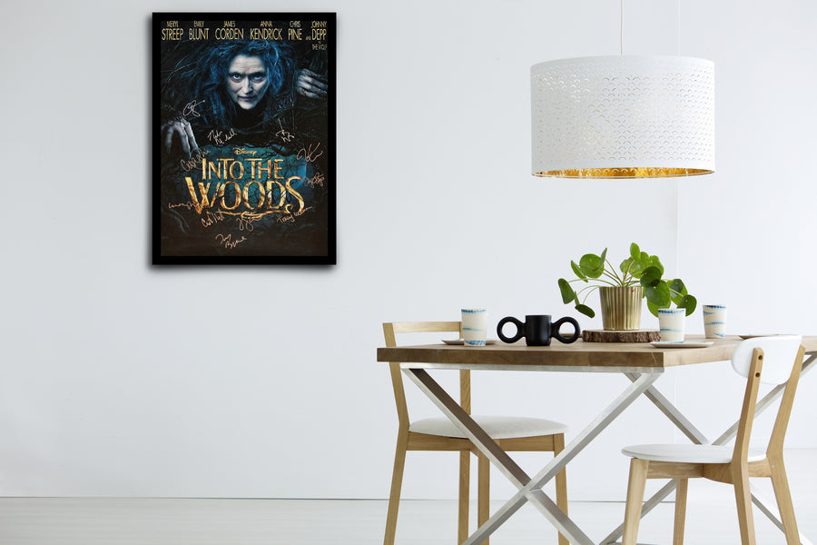 INTO THE WOODS - Signed Poster + COA