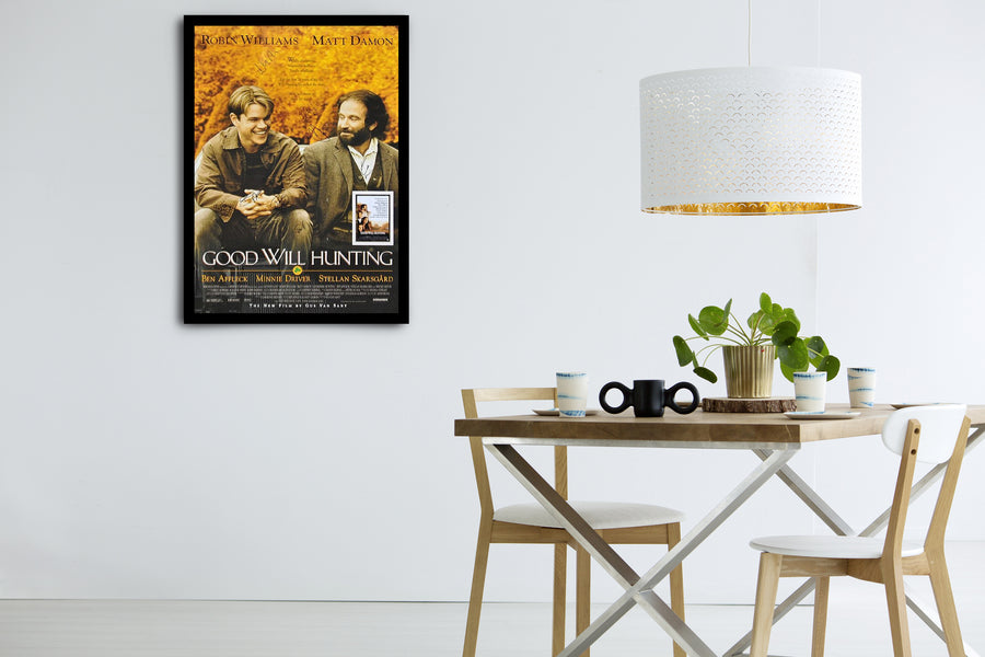 GOOD WILL HUNTING - Signed Poster + COA - Poster Memorabilia