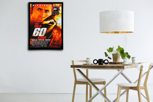 GONE IN 60 SECONDS - Signed Poster + COA