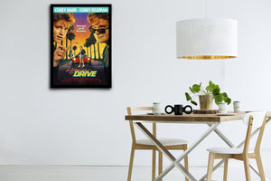 LICENSE TO DRIVE - Signed Poster + COA