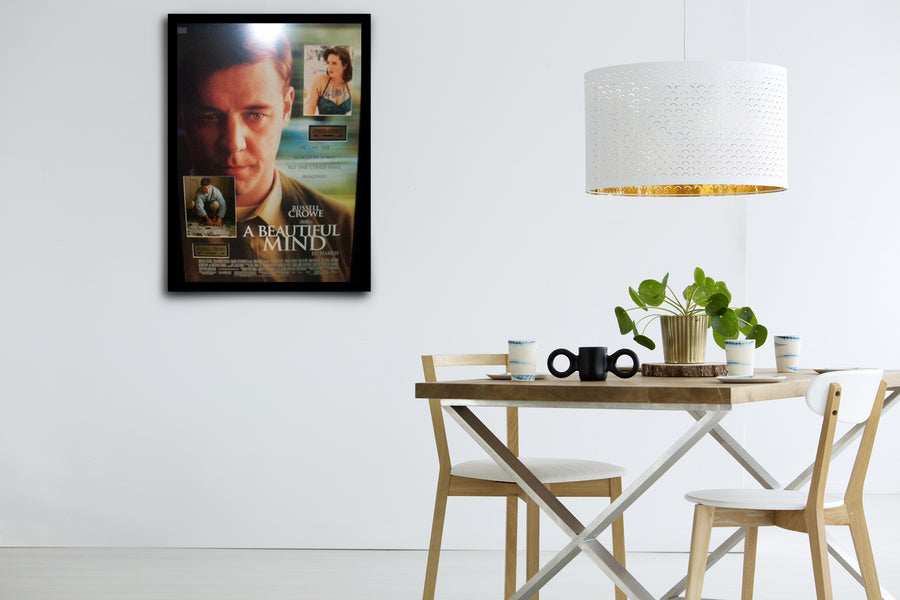 A Beautiful Mind - Signed Poster + COA