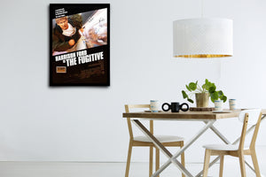 THE FUGITIVE - Signed Poster + COA