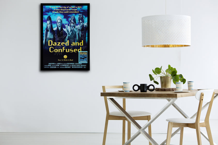 DAZED AND CONFUSED - Signed Poster + COA