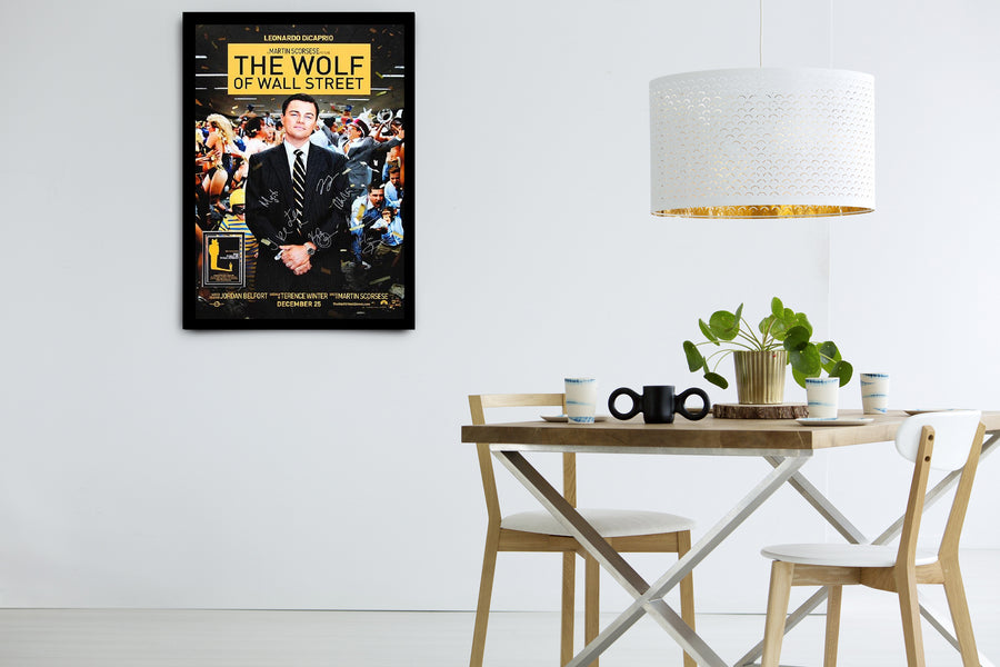 The Wolf of Wall Street - Signed Poster + COA